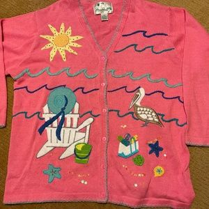 QUACKER FACTORY summer sweater   Size 1X